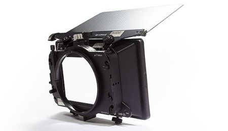 "ARRI LMB-25 4x5.65"" Matte Box  Clip-on 3 stage."