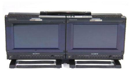 """Sony OLED PVM 741 (9"""") Pair in mount"""