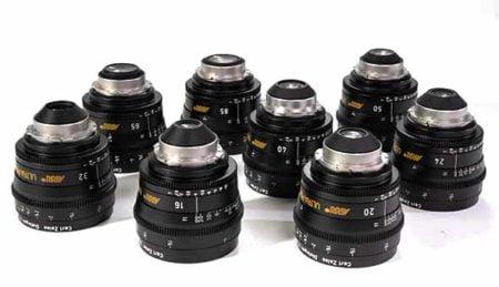 ARRI UltraPrime Lens Set